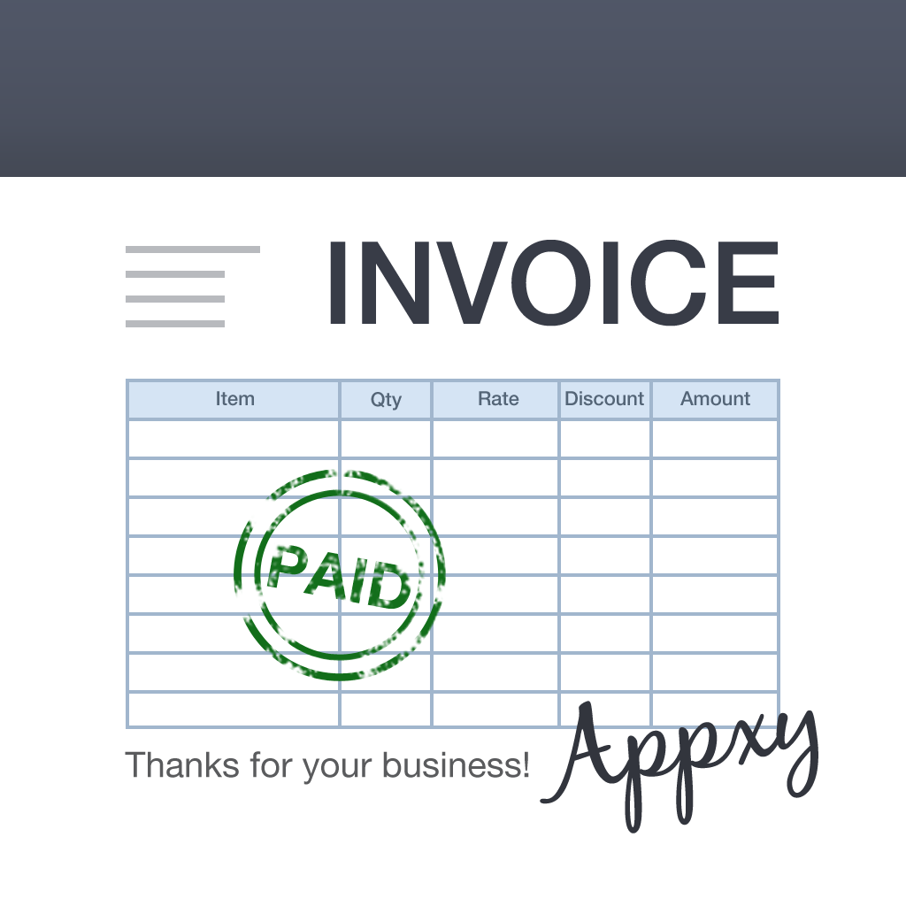 Turbo Invoice For IPad Mobile Invoicing And Billing Manage Sales - Appstore invoice